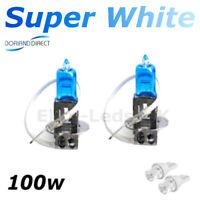H1 448 100w Super White Xenon Car Headlight Bulbs 12v W5W Led Sidelights BB