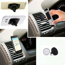 SOPORTE DE REJILLA PARA COCHE MAGNETICO IPHONE 6 PLUS 6 GALAXY S6 S7 EDGE PLUS