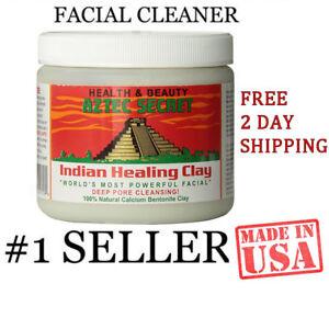 AZTEK AZTEC SECRET INDIAN Healing Clay Deep Pore Cleansing Face Care 1 Pound