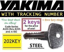 O u t of s t o c k, back again @ 6/10/19 2 YAKIMA Replacement Key SKS Rack Roof