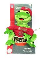 "Gemmy Frogz NFL SF 49ers ""IN DA CLUB"" Rock It Rap It Ribbit Hip Hop Frog 2005"