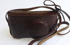 Leica Leitz Screw Mount Camera case Original Case With 3/8 inch Screw Excelled