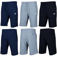 Nike Classic Herren Kurze Hose Shorts Baumwolle Training Navy Schwarz Grau