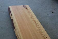 Fensterbank Lärche Wild Massiv Holz mit Baumkante Fensterbrett Brett Bohle NEU
