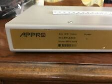 Appro ~ Model Mpx-9104 ~ Black White Quad Processor ~ Cctv Surveillance ~ 4 Ch