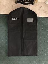 Authentic Dior Black Nylon Dress/Garment Bag 98cm Long