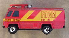 Vintage Matchbox 1980 Command Vehicle #3 Metro Airport FOAM