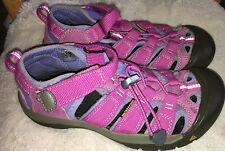 Keen Sandals Newport H2 Size 4 Kids Girls Waterproof Pink Shoes So Cute!