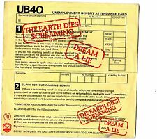 VINYLE 45 TOURS UB40 THE EARTH DIES SCREAMING VOGUE 101386 FRANCE 1980 SINGLE 7