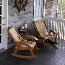 Pawleys Island Coastal Duracord Rocking Chair Poly Durawood Outdoor Furniture