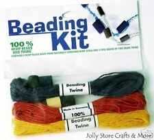 Hemp Beading Kits Sale beads twine jewelry teens crafts