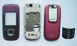 Purple housing case fascia facia faceplate Cover case for Nokia 2680S 2680 red