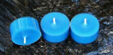 10pk 120hr/pack CHRISTMAS PUDDING Scented BLUE Natural Eco SOY TEA LIGHT CANDLES