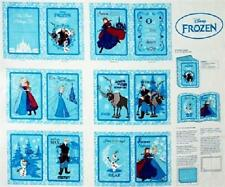 Disney Frozen Winters Magic 100% Cotton Quilting Fabric Book Panel Springs 53248