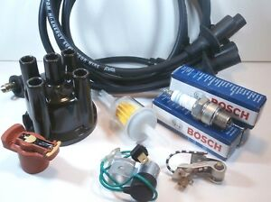 VW COMPLETE 009 TUNE UP KIT. Cap Rotor Wires Plug Condensor