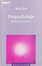 kn- RÝZL : PARAPSYCHOLOGIE   TATSACHEN UND AUSBLICKE   4106