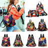 Women's Anti-Theft Backpack Oxford Cloth Waterproof Female Travel Shoulder Bags