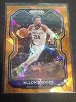 2020-21 Panini Prizm #70 Dillon Brooks Orange Ice