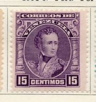 Venezuela 1904-09 Early Issue Fine Mint Hinged 15c. 149555