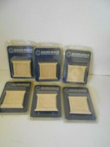 6 pkts x Winther Browne Fine Wood Mouldings  7.5cm x 6.5cm x 7mm (2 in each pkt)