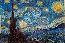 STARRY NIGHT - VAN GOGH ART POSTER 24x36 - 45022