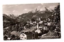 Germany - Berchtesgaden mit Watzmann - Vintage Real Photo Postcard