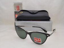 c8f746e4ae7 Ray-Ban RB4360 Black Transparent Frame green Classic Lens Sunglasses 54mm