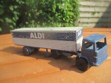 NZG No.172 rares ALDI Werbemodell 1:75 Mercedes Benz LKW - komplett (BILDER)