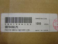 Toshiba/Fujistu 44MHz SAW Filter SBF0406LPL, BW=6.16MHz, Qty.10