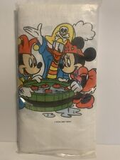 """Vintage Disney Mickey Mouse Party Table Cover 54"""" X 104"""""""
