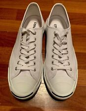 Converse Jack Purcell White Leather Unisex Sneakers Shoe Men's 11/Women's 12.5