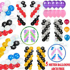 100pcs 10'' Red & Blue Balloons Animal Theme Easter Anniversary Jungle Party