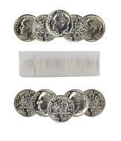 1985-D Roosevelt Dime Choice BU Roll Uncirculated 50 Coins