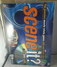 Scene It DVD Movie Trivia Family Board Game  New Sealed Mattel