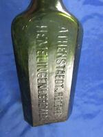 Athenstedt & Redecker Helmelingen b.Bremen Medizin-Flasche Arzt Apotheke um 1900