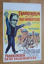MUNSTER GO HOME Fred Gwynne original belgian movie poster '66