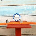Hot Wheel Orange Incomplete Fast Track For Racing With Oval Blue Hoop USA Seller
