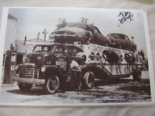1948 STUDEBAKER  NEW CARS ON HAULER  11 X 17  PHOTO /  PICTURE