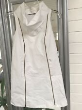 Camilla And Marc Mod Dress Mini Vogue Roll Neck Long Side Zips