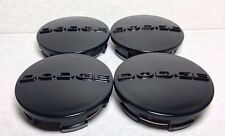 4 Pcs, Dodge Letter, Black, 63MM, Wheel Center Cap, #1SK35TRMAA