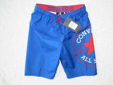 CONVERSE Royal Blue Swim Trunks Volley Shorts Swimwear, Boys size M