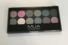 MUA MAKEUP ACADEMY PROFESSIONAL EYESHADOW PALETTE STARRY NIGTH 12 COLORI