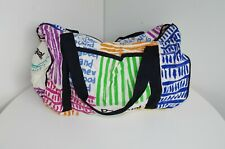 DESIGUAL WOMENS SPORTS SPORT GYM SHOULDER BAG HANDBAG COLORFUL BEACH LARGE 122