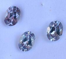 VVS 4.95 Ct Natural Color Change Alexandrite Certified Flawless 3 Pcs Gemstone
