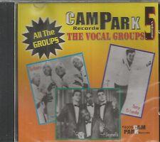 CAM PARK VOCAL GROUPS CD - VOL 5   BRAND NEW