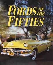 BOEK/LIVRE : FORDS OF THE FIFTIES (amerikaanse ford jaren 50,50s,1950s,oldtimer