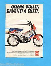 TOP990-PUBBLICITA'/ADVERTISING-1990- GILERA BULLIT