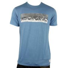 Magliette da uomo blu Ben Sherman taglia XS