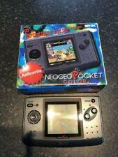 SNK Neo Geo Pocket Color Handheld System - Anthracite