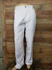 "Adidas FPS12-M012 LOGO Performance ClimaLite White Pants Men's Size 34x32"" NWT"